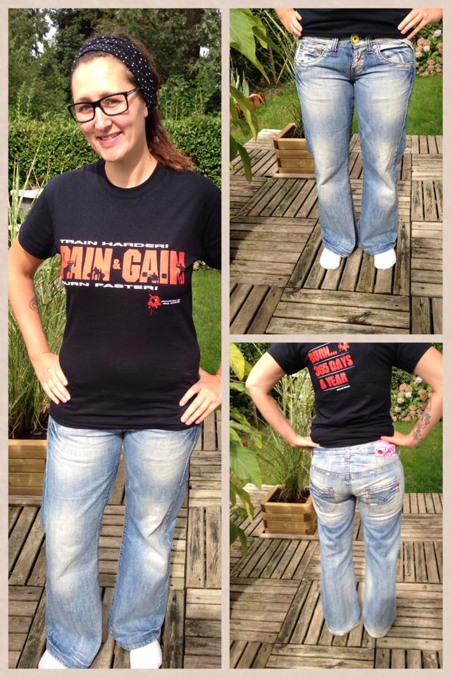 Meine Jeans & Ich. Glücklich vereint. Happy End.