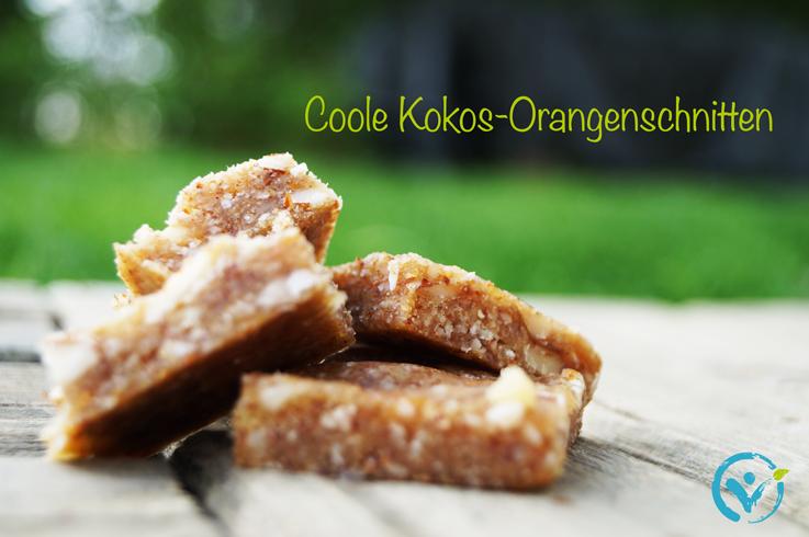 Coole-Kokos-Orangenschnitten