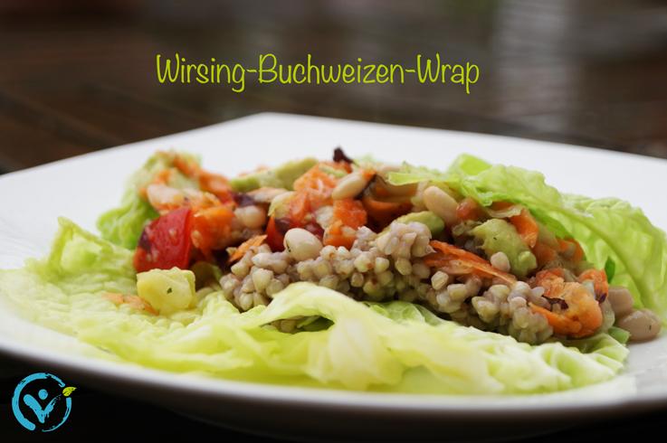Wirsing-Buchweizen-Wrap